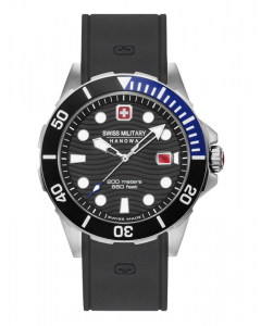 Pænt Offshore Diver herreur fra Swiss Military Hanowa - 643380400703