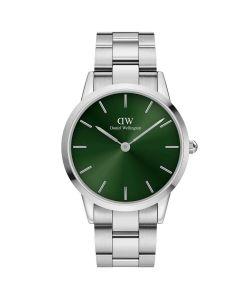 Flot 40 MM Iconic Link Emerald fra Daniel Wellington - ADW00100427